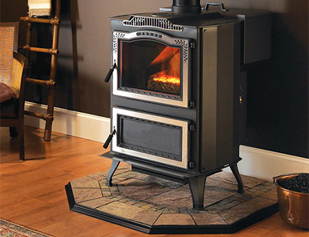 stove and hearth pad