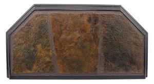 Flagstone Hearth Pad Detail