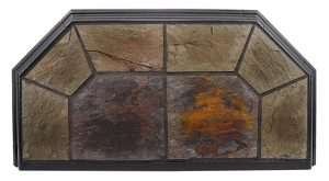 Indian Slate Hearth Pad Detail