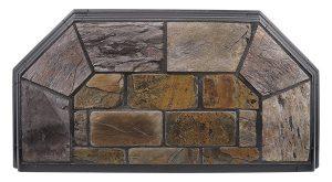 Montana Stone Hearth Pad Detail